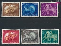 Luxemburg 525-530 (kompl.Ausg.) Postfrisch 1954 Brauchtum (9256352 - Ungebraucht