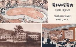 X132.  Port-au-Prince - Haiti - Riviera Hotel - 1953 - Haiti