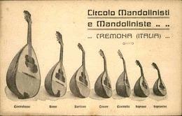 ITALIE - Carte Postale - Crémona - Carte Publicitaire , Fabricant De Mandolines - L 30079 - Cremona