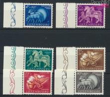 Luxemburg 525-530 (kompl.Ausg.) Postfrisch 1954 Brauchtum (9256364 - Luxemburg