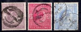 Grande-Bretagne YT N° 118/120 Oblitérés. B/TB. A Saisir! - Used Stamps