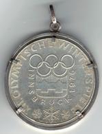 AUSTRIA 1974 Moneta D'argento 100 Scellini Olimpiadi Invernali Innsbruck '76 Weight / Peso: 28 Gr  Diametro: 36MM - Austria