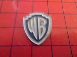 812c Pin's Pins / Beau Et Rare / THEME : CINEMA / DESSIN ANIME LOGO WARNER BROS - Cinéma