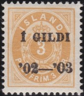 IJsland  .      Yvert   23A      .      *     .         Mint-hinged   .    /   .   Ongebruikt - 1873-1918 Dipendenza Danese