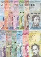 VENEZUELA 2 : 100000 Bolivares 2016 2017 P88 :P100 UNC New SET 13 NOTES */* - Venezuela