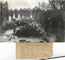 PHOTO DE PRESSE MILITAIRE SOLDAT INCONNU - War, Military