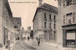 [38] Isère > Saint-Laurent-du-Pont Une Rue - Saint-Laurent-du-Pont