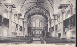 AN95 Daventry Church - 1905 Postcard - Northamptonshire