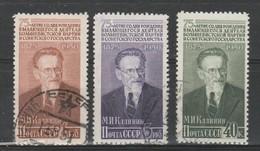 URSS - Usati - Kalinin. Cat. Unificato. N. 1498/00 - Oblitérés