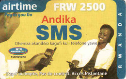 Rwanda, Airtime FRW 2500 - Rwanda