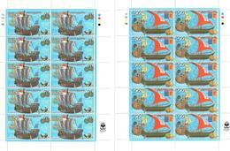 Armenia.1999 Cilician Navigation. 2 Sheetlets, Each Of 10  Michel # 357-58 KB - Armenia