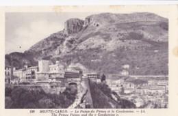AO73 Monte Carlo, Le Palais Du Prince Et La Condamine - LL Postcard - Prince's Palace