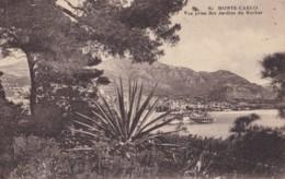 AO73 Monte Carlo, Vue Prise Des Jardins Du Rocher - LL Postcard - Monte-Carlo