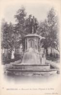 AO73 Bruxelles, Monument Des Comtes D'Egmont Et De Horn - Undivided Back - Monuments