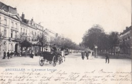 AO73 Bruxelles, L'Avenue Louise - Undivided Back, Animated - Avenues, Boulevards