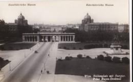 AO73 Wien, Heldenplatz Mit Burgtor, Prinz Eugen Denkmal - RPPC, Museums - Museums