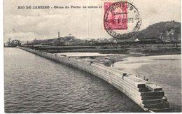 RIO DE JANEIRO .... OBRAS DO PORTO - Rio De Janeiro