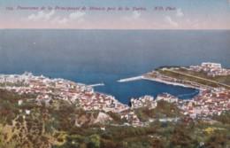 AP47 Panorama De La Principaute De Monaco Pris De La Turbie - Monaco
