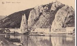 AP47 Dinant, Roche A Bayard - River With Boat - Dinant
