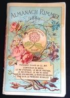 Parfum Rimmel Ravissant Almanach Calendrier 1889 Savants Celebres Montgolfier Edison Faraday Davy Daguerre - Kalenders
