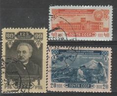 URSS - Usati - 30à Ann. Repubblica Sovietica Di Armenia.  Cat. Unificato N. 1504/06 - Oblitérés