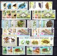 Océan Indien Britannique Petite Collection Neufs ** MNH 1970/1996. Bonnes Valeurs. TB. A Saisir! - British Indian Ocean Territory (BIOT)