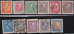 IJsland  .      Yvert   34/44   (35:  *)       .       O     .         Cancelled   .    /   .   Gebruikt - 1873-1918 Deense Afhankelijkheid