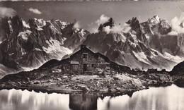 74. CHAMONIX.  AU PAYS DU MONT BLANC. CREPUSCULE AU LAC BLANC. ANNEE 1955 - Chamonix-Mont-Blanc