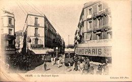ORAN - Le Boulevard Séguin - En L'état - Oran