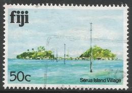 Fiji. 1979 Architecture. 50c Used. No Date Imprint. SG 593A - Fiji (1970-...)