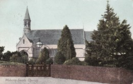 AN97 Woburn Sands Church - 1907 Ampthill Squared Circle Postmark - Buckinghamshire