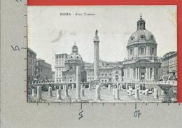 CARTOLINA NV ITALIA - ROMA - Foro Traiano - 9 X 14 - Roma (Rome)