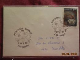 Lettre De 1971 à Destination De Bruxelles (international Ballonrace) - Belgique