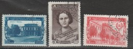URSS - Usati - 10° Ann. Repubblica Sovietica Di Lituania.  Cat. Unificato N.1483/85 - Used Stamps