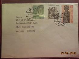 Lettre De Foroyar De 1985 à Destination De Hambourg - Autres - Europe