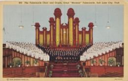 AR28 Tabernacle Choir And Ordan, Great Mormon Tabernacle, Salt Lake City, Utah - Salt Lake City