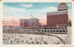 AR28 Haddon Hall And Chalfonte Hotel, Atlantic City, N.J. - Atlantic City