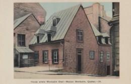 AR28 House Where Montcalm Died, Maison Montcalm, Quebec - Quebec