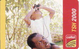 Tanzania Celtel 2000 TSH - Tansania