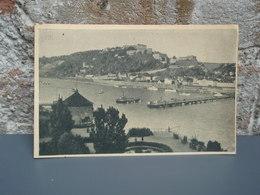 Cpa Koblenz, Festung Ehrenbreitstein, Coblence. 1948 - Koblenz