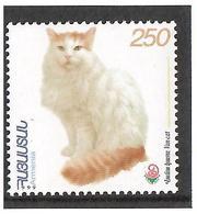 Armenia.1999 Flora & Fauna V. Cat Ovpt China'99 Logo. 1v: 250 Michel # 361 - Armenia