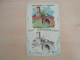 CHROMO ETUDE DE PEINTURE N°5 - Trade Cards