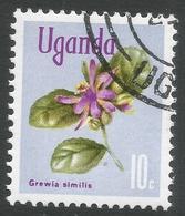 Uganda. 1969 Flowers. 10c Used. SG 132 - Uganda (1962-...)
