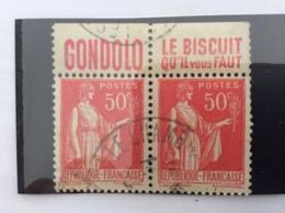 Bloc De 2 283 Avec Bande Publicitaire - 1932-39 Paix