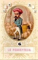 Carte De Jeu N° 6 : Le Percepteur - Old Paper