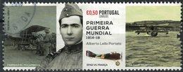 Portugal 2017 Oblitéré Used Alberto Lello Portela Lieutenant Première Guerre Mondiale SU - 1910-... République