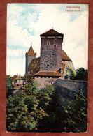 Nuernberg, Heidenturm, Wappen, Nach Hannover 1908 (74091) - Nuernberg