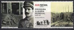 Portugal 2017 Oblitéré Used Anibal Milhais Soldat Première Guerre Mondiale SU - 1910-... République