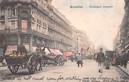 Bruxelles - Boulevard Anspach - Avenidas, Bulevares