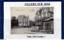 14 - VILLERS SUR MER- Villa De Corday - Villers Sur Mer